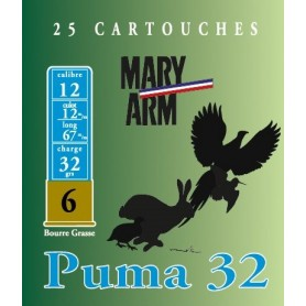 Cartouche Mary Arm Puma 32 / Cal. 12 - 32 g