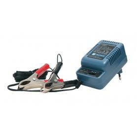 Chargeur de batterie 6 V / 12 V pour agrainoirs automatiques