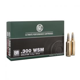 Cartouche RWS / cal. 300 WSM - Evo 11,9 g