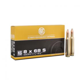 Cartouche RWS / cal. 8x68 S - KS 11,7 g