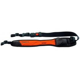 Bretelle carabine Niggeloh Action avec attaches rapides / Orange