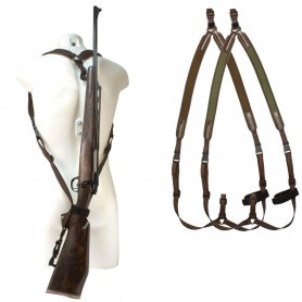 "Bretelle carabine néoprène Niggeloh ""sac à dos"" / Noir"