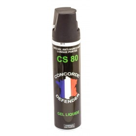 Bombe lacrymogène au gel CS 75 ml