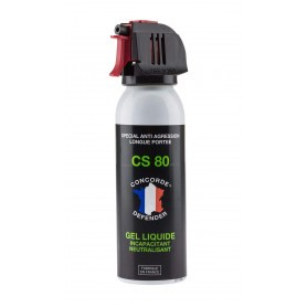Bombe lacrymogène au gel CS 100 ml