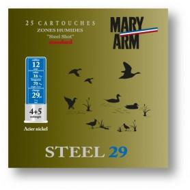 Cartouche Mary Arm Steel 29 / Cal. 12 - 29 g