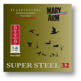 Cartouche Mary Arm Super-Steel 32 / Cal. 12 - 32 g