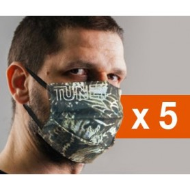 Pack 5 masques de protection Tunet norme Afnor