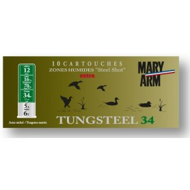 Cartouche Mary Arm Tungsteel 34 / Cal. 12 - 34 g