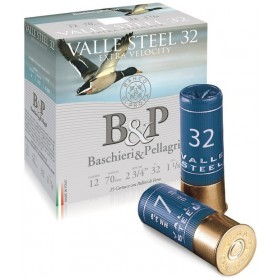 Cartouche B & P Valle Steel 32 / Cal. 12 - 32 g
