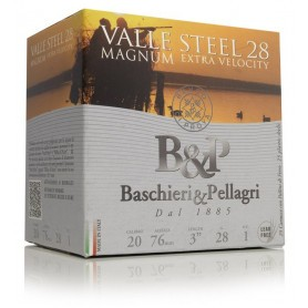 Cartouche B & P Valle Steel Magnum / Cal. 20 - 28 g