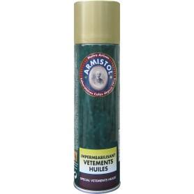 Spray imperméabilisant Armistol vêtements huilés