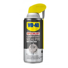 Spray lubrifiant sec WD-40 au PTFE