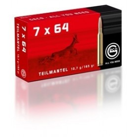 Cartouche Geco / cal. 7x64 - T-Mantel 10,7 g