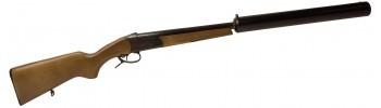 Fusil monocoup silencieux Baïkal IJ18 Bois / Cal. 12/76