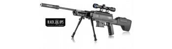 Carabine à plomb Black Ops Sniper Tactical - Cal 4,5 mm
