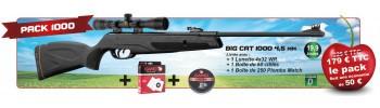 Pack cerise Gamo Big Cat 1000 - Cal. 4,5 mm