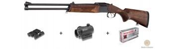 Pack carabine express Baïkal avec point rouge / Cal. 9,3 x 74 R