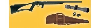 Pack carabine 22LR silencieuse Mossberg 802 Plinskter synth.