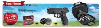 Pack Cerise Gamo Pistolet - 4,5 mm