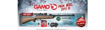 Pack Noël 2017 Gamo Cadet - 4,5 mm