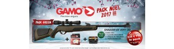 Pack Noël 2017 Gamo Green - 4,5 mm