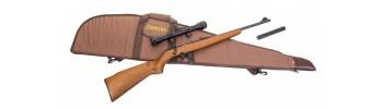 Pack carabine 22LR Mossberg 802 Plinkster bois