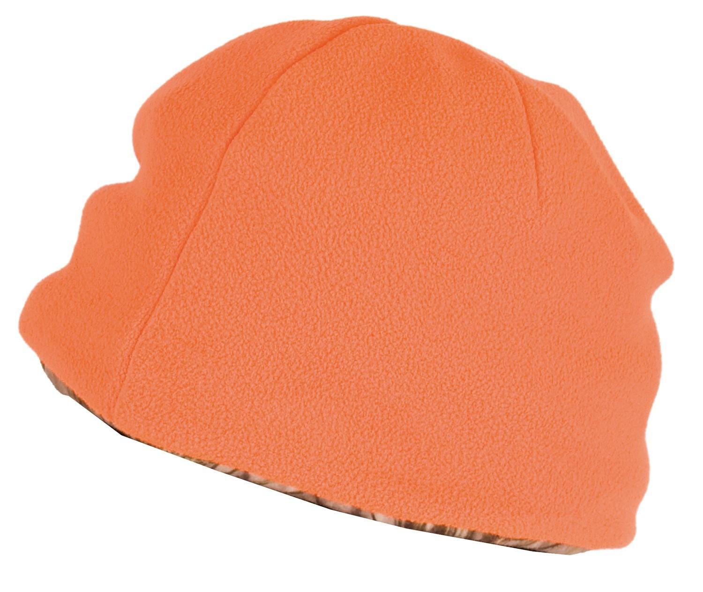 bonnet polaire r versible somlys 2466 camo 3dx orange. Black Bedroom Furniture Sets. Home Design Ideas