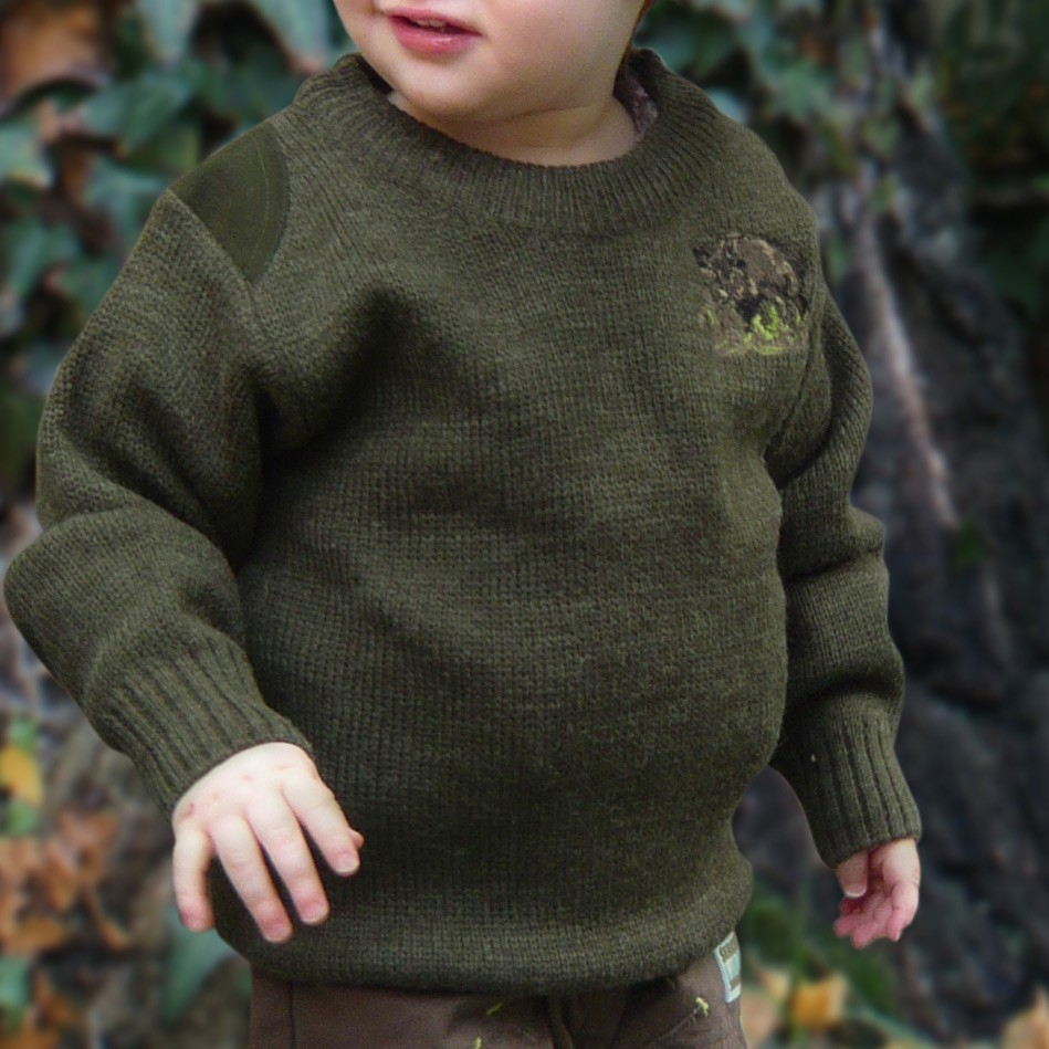 pull de chasse enfant lma moineau pulls de chasse sweat shirts made in chasse. Black Bedroom Furniture Sets. Home Design Ideas