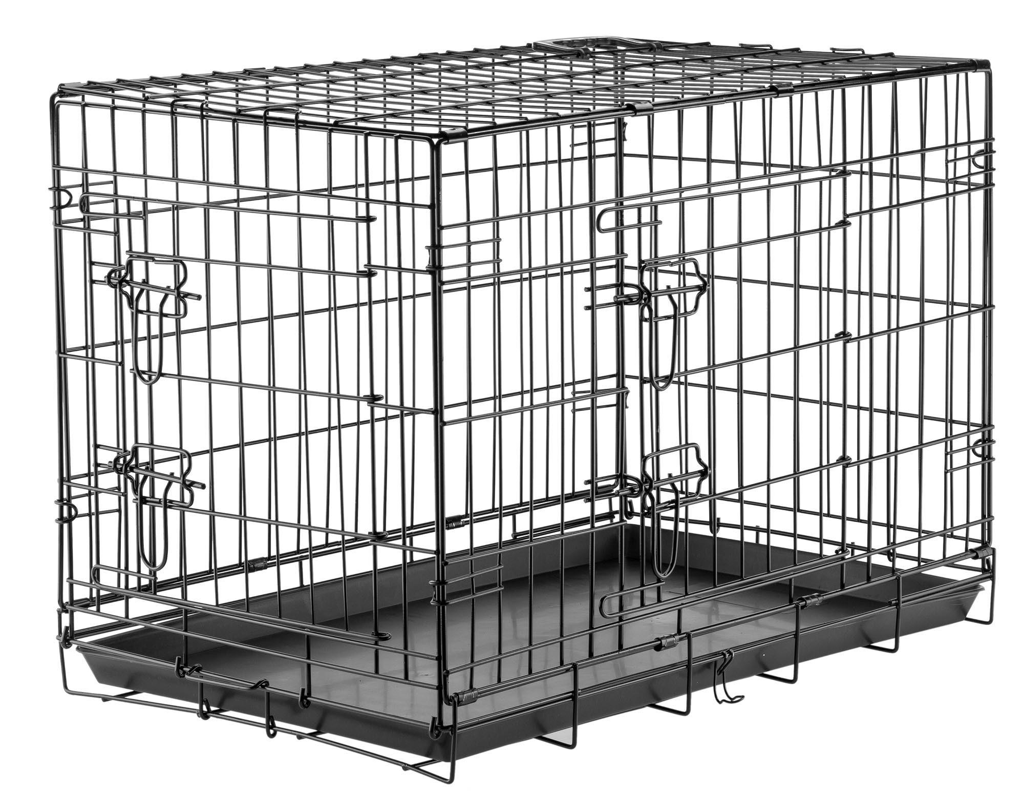 cage de transport pour chien taille l couchage. Black Bedroom Furniture Sets. Home Design Ideas