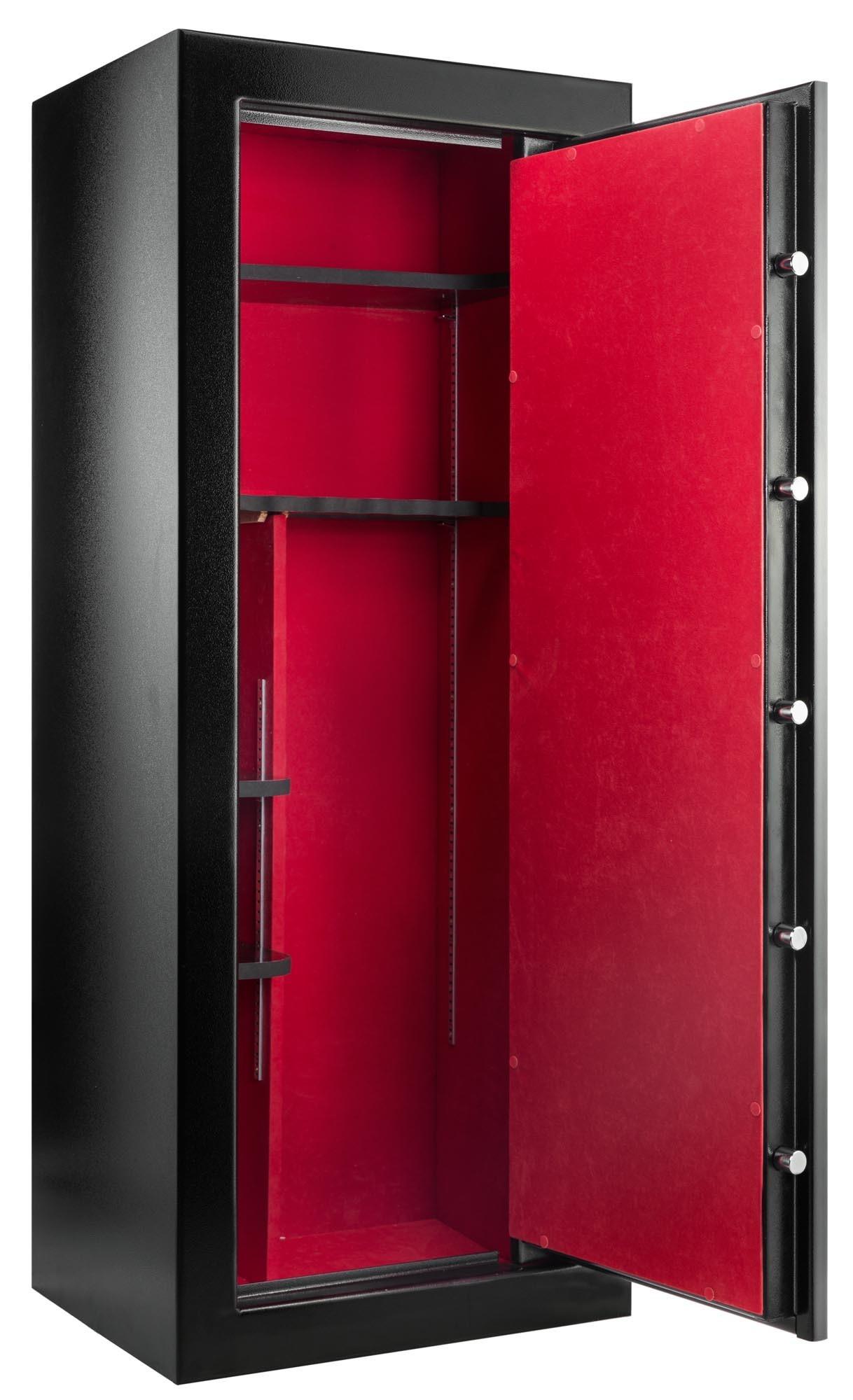 armoire forte rietti premium 18 armes avec rangements armoires fortes pour armes longues. Black Bedroom Furniture Sets. Home Design Ideas