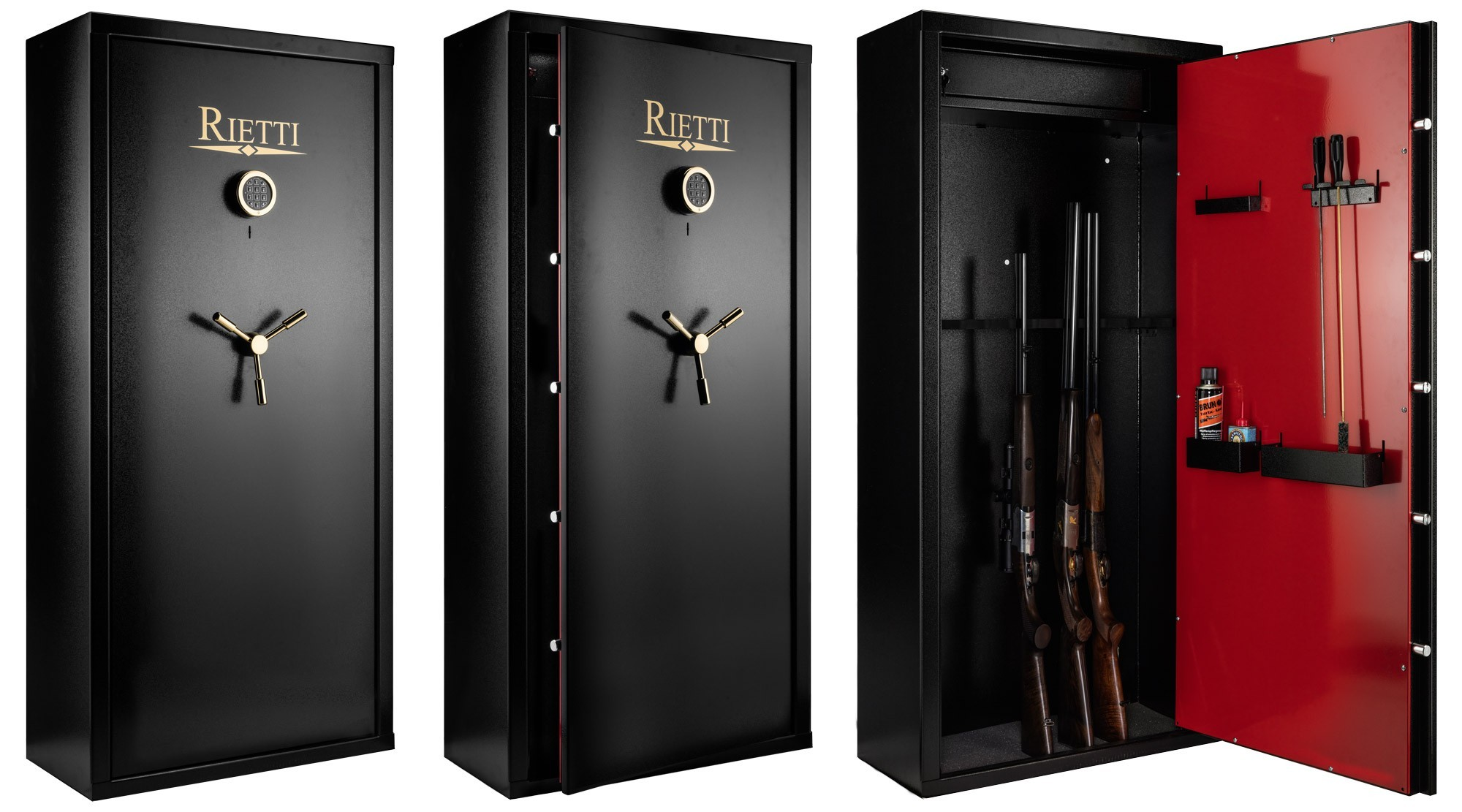 armoire forte rietti first digital 12 armes armoires fortes pour armes longues made in chasse. Black Bedroom Furniture Sets. Home Design Ideas