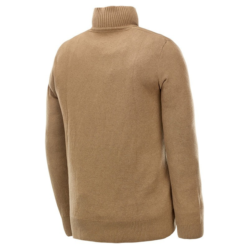 pull de chasse col zipp stagunt deer beige pulls de chasse sweat shirts made in chasse. Black Bedroom Furniture Sets. Home Design Ideas