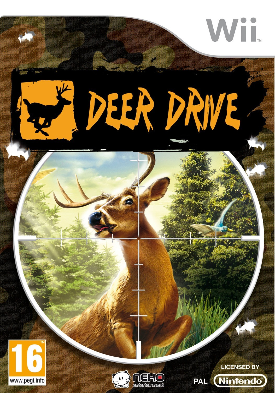 deer drive fusil collector wii jeux de chasse made in chasse. Black Bedroom Furniture Sets. Home Design Ideas