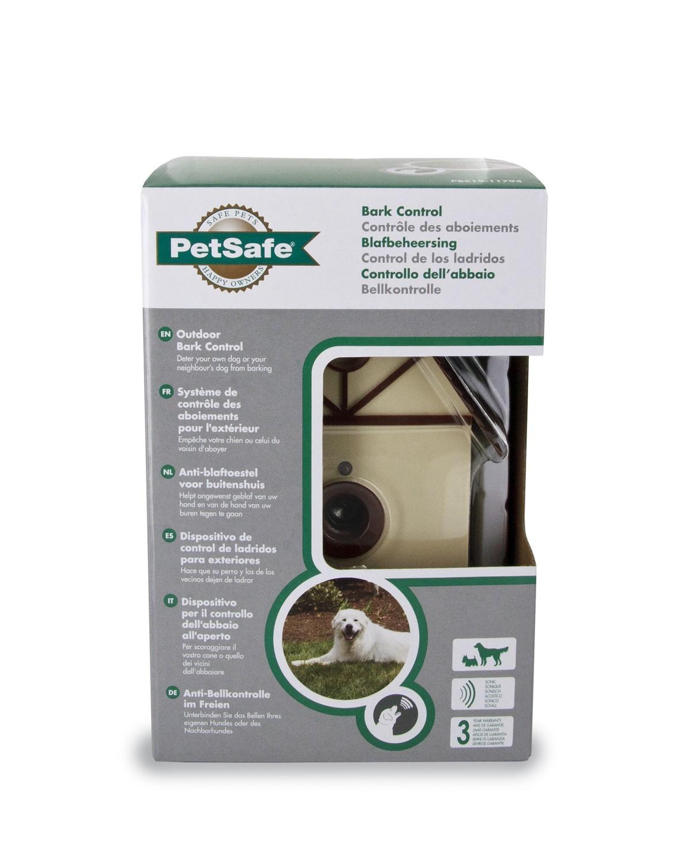 Bo tier anti aboiement outdoor bark control colliers for Boitier anti aboiement exterieur