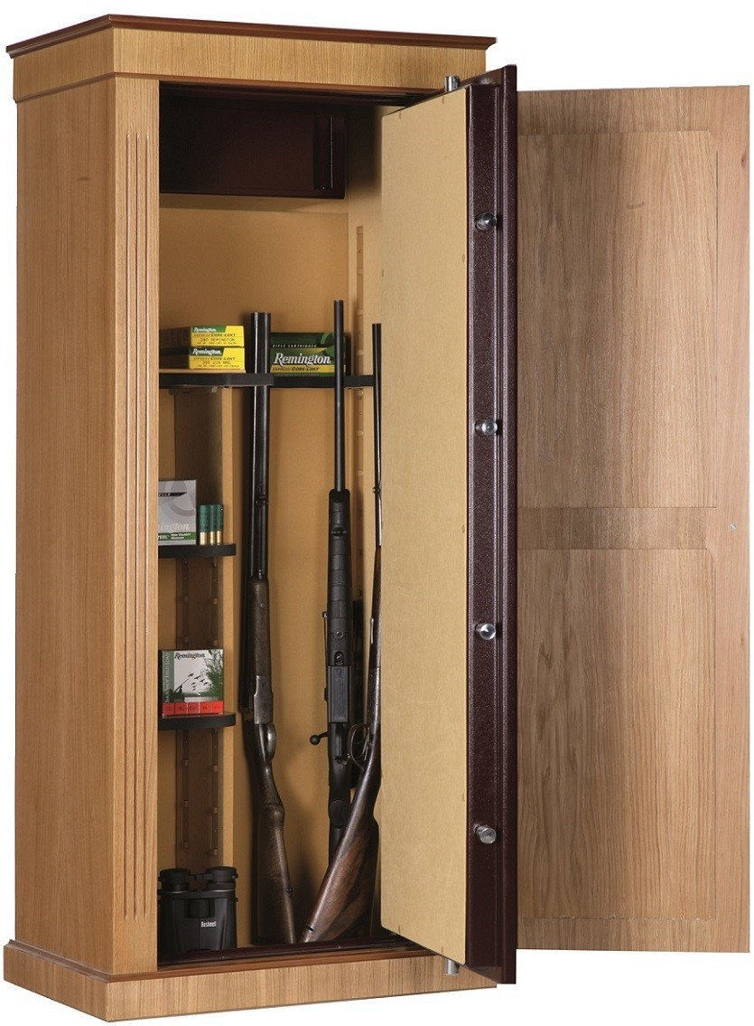 armoire forte infac wood cover ch ne 8 armes armoires fortes pour armes longues made in chasse. Black Bedroom Furniture Sets. Home Design Ideas