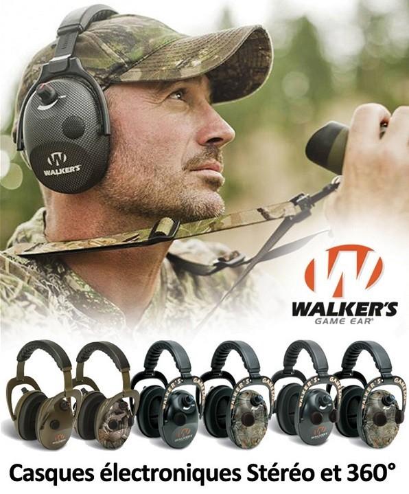 Casque antibruit walker 39 s power muff quads realtree for Meilleur casque anti bruit passif