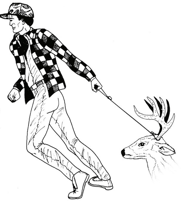 C ble de tirage petits quipements de chasse made in - Equipement de chasse ...