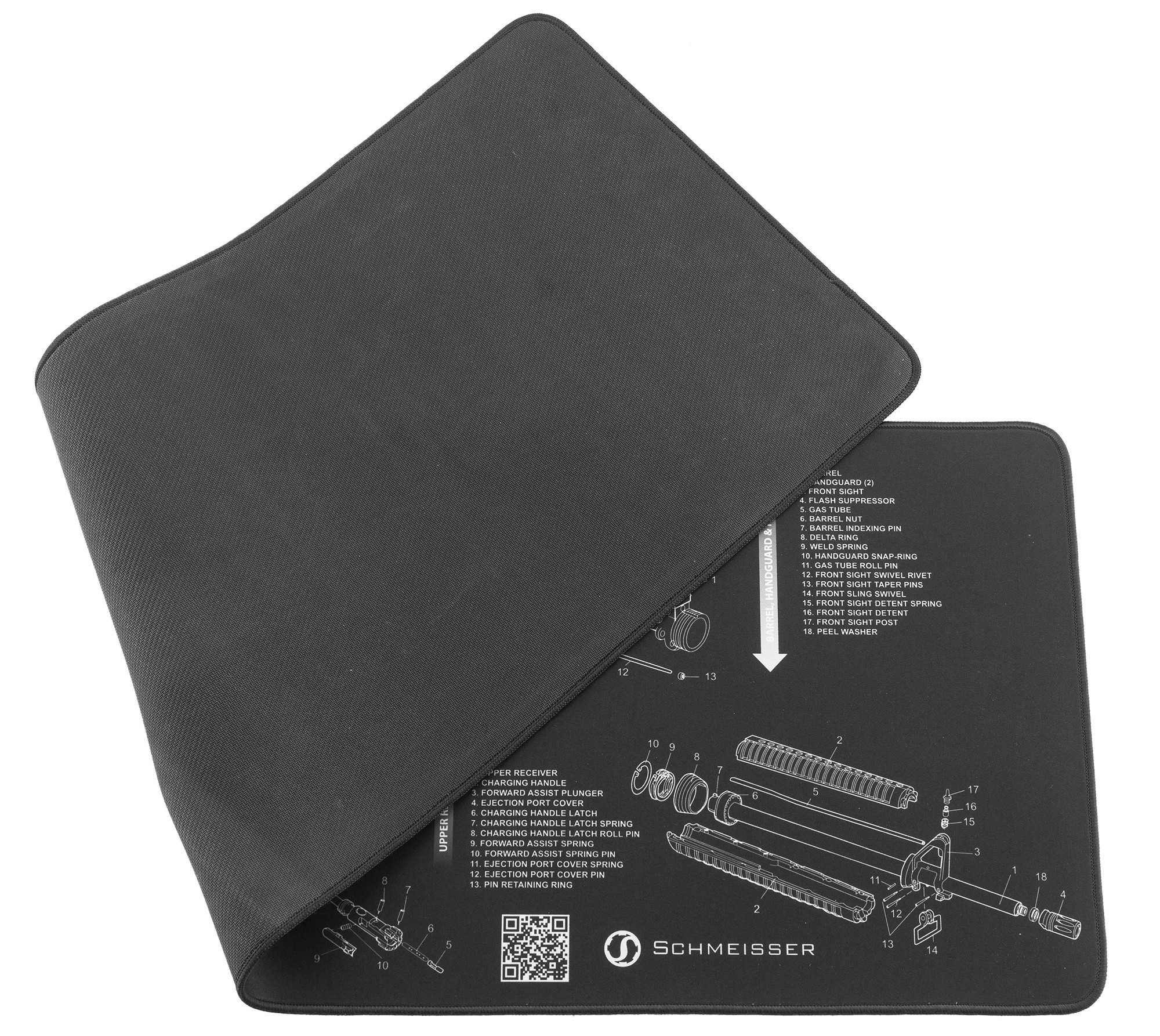tapis de nettoyage pour armes schmeisser accessoires de nettoyage made in chasse. Black Bedroom Furniture Sets. Home Design Ideas