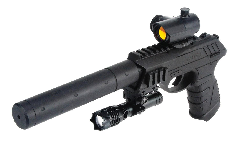 Pistolet co2 gamo p25 tactical cal 4 5 mm pistolets - Pistolet air comprime ...