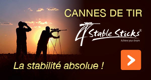 Cannes de tir 4 Stable Sticks